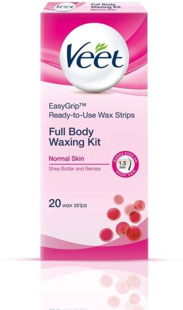 Veet Hair removal Wax Strips for Body Sensitive Skin X 20 - Talabac