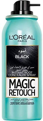 LOreal Paris Magic Retouch Instant Root Concealer, Black, 75 ml - Talabac