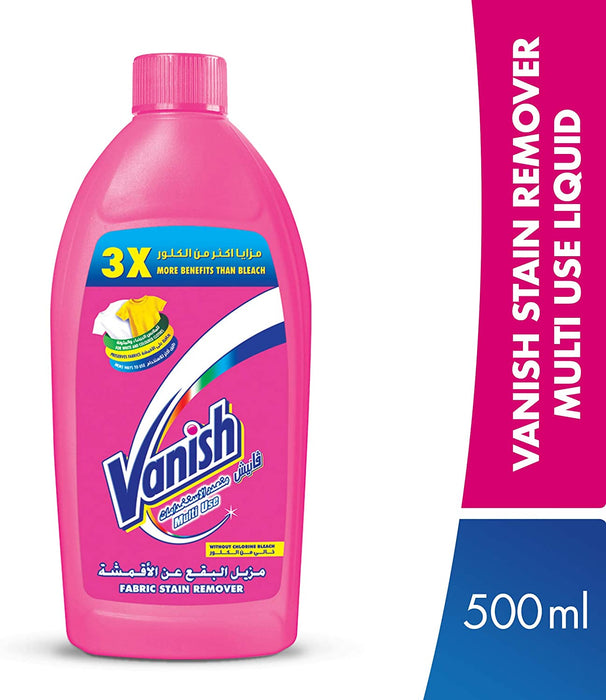 Vanish Laundry Stain Remover Liquid for Colors & Whites, 1.8L+500ml @15%