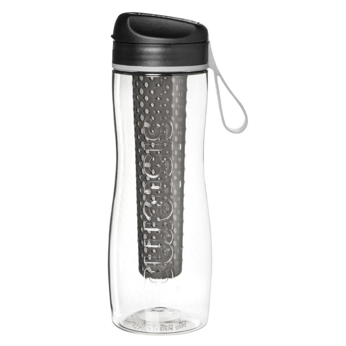 Sistema Tritan Infuser Bottle, Black - 800ml - Talabac