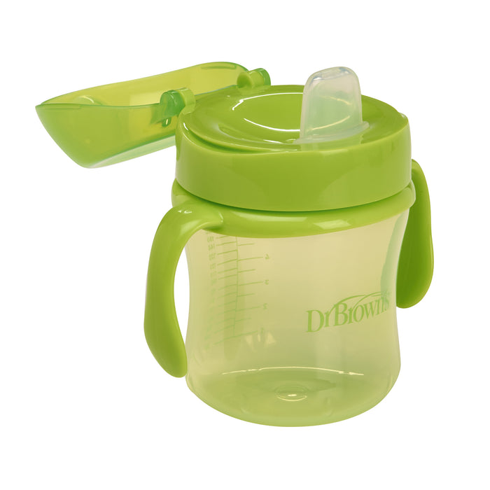 Dr. Brown's Soft-Spout Transition Cup (Green) - 180 ml - Talabac
