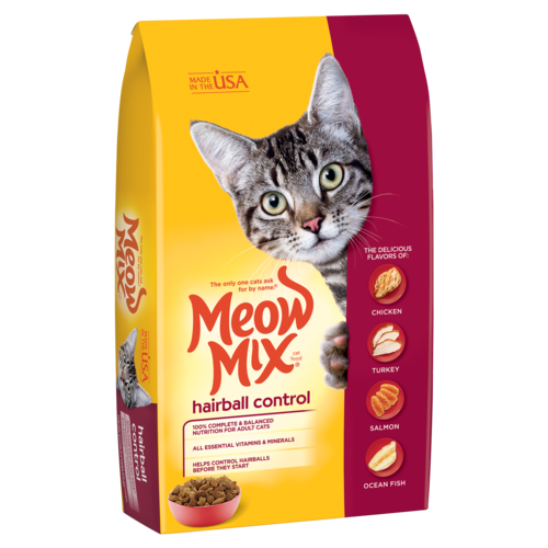 Meow Mix Hairball Control 1.36 kg