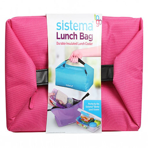 Sistema Lunch Bag TO GO, Pink - Talabac