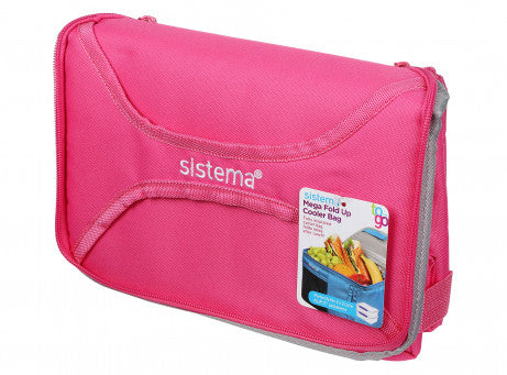 Sistema Mega Fold Up Cooler Bag TO GO - Pink - Talabac