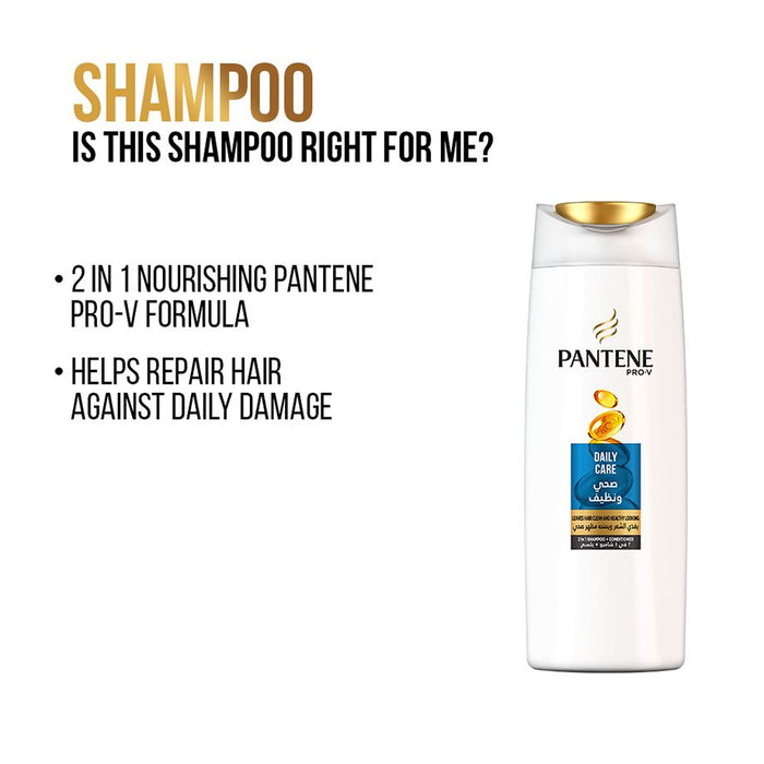 Pantene Pro-V Daily Care Shampoo 400 Ml - Talabac