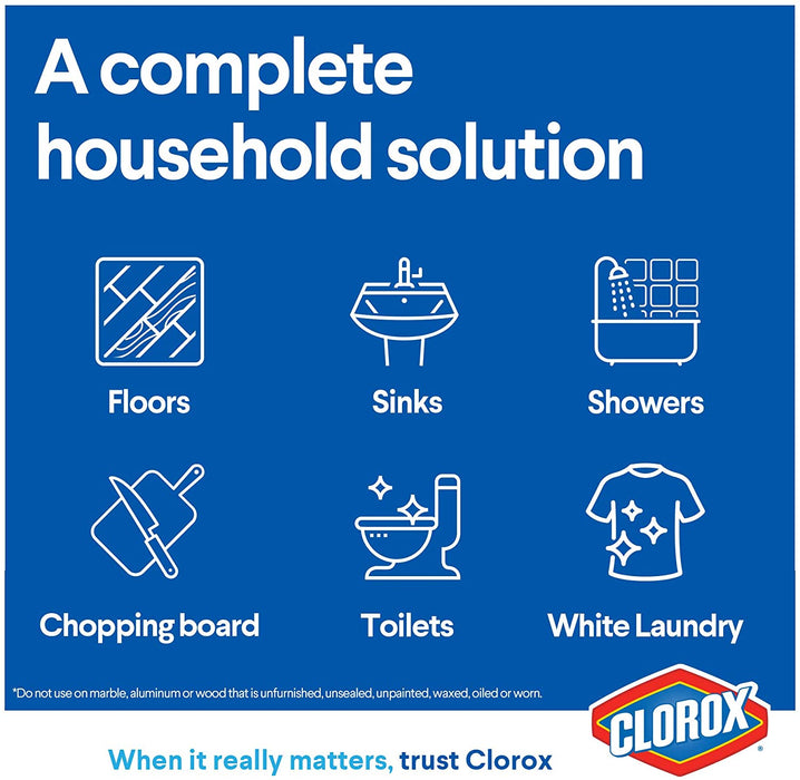 Clorox Offer Original Bleach 2 X 960ml