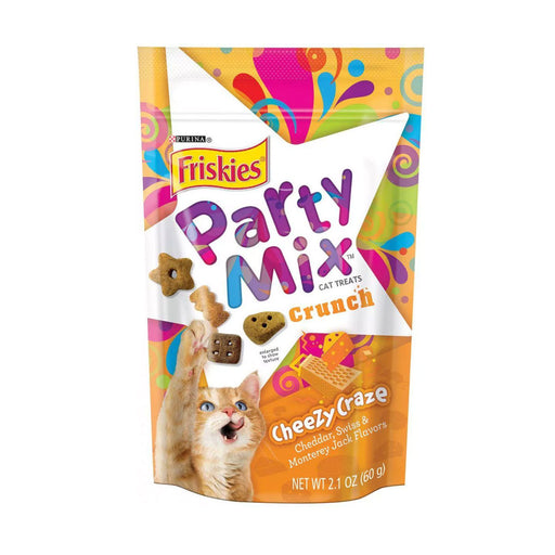 Purina Friskies Party Mix Crunch Original Cat Treats 170g. Pouch