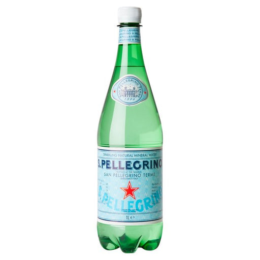 San Pellegrino Sparkling Natural Mineral Water - 1L