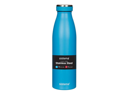 Sistema 500ml Stainless Steel, Blue - Talabac