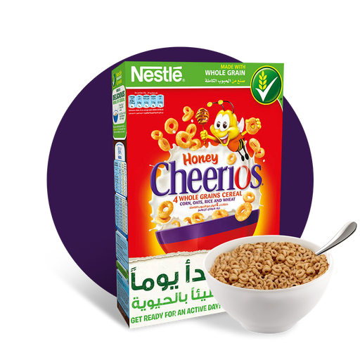 Nestle Cheerios Honey Breakfast Cereal - 430 gm