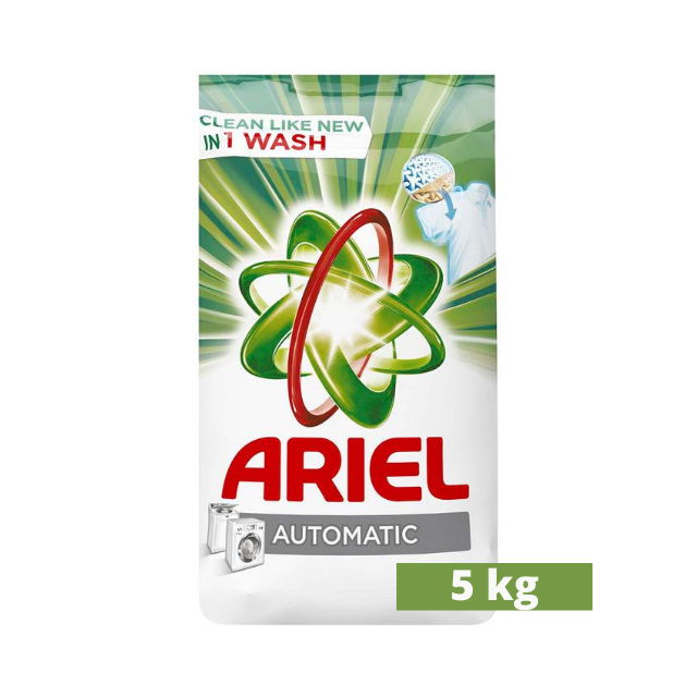 Ariel Automatic Powder Laundry Detergent, Original Scent, 5kg