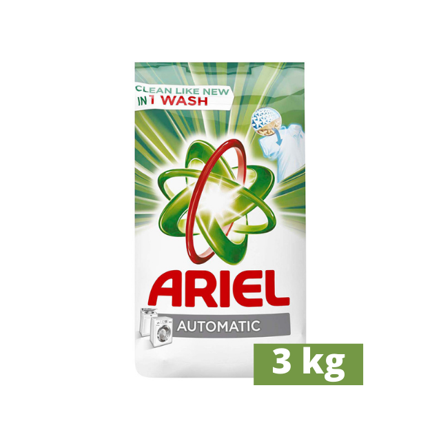 Ariel Automatic Powder Laundry Detergent, Original Scent, 3kg