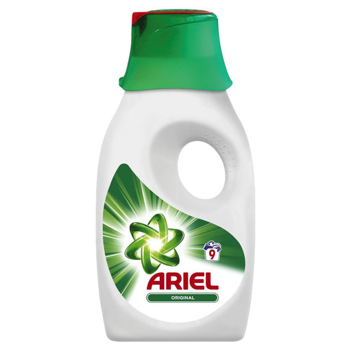 Ariel Liquid 9 Wash Regular 450ml (Made in Britain).