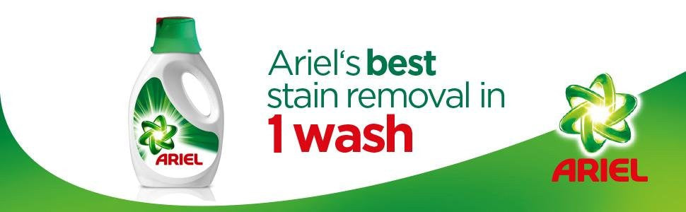 Ariel Liquid 9 Wash Regular 450ml (Made in Britain). - Talabac