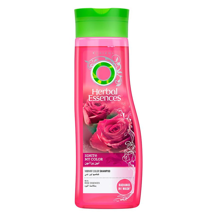 Herbal Essences Ignite My Color Vibrant Color Shampoo With Rose Essences 700ml - Talabac