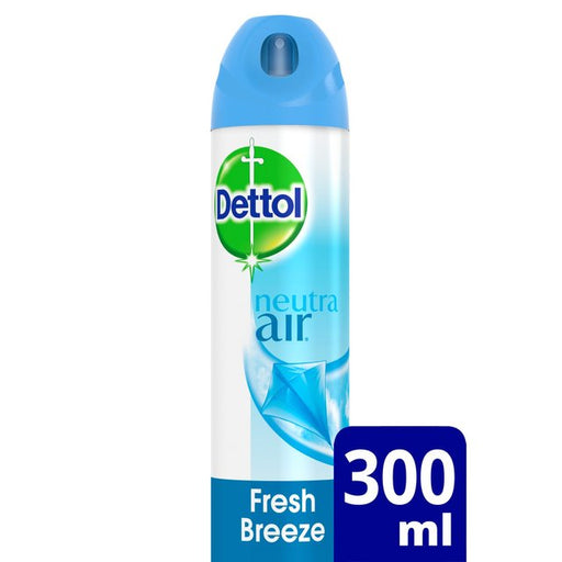 Dettol Neutra Air Aerosol Fresh Breeze 300ml (Made in Britain).