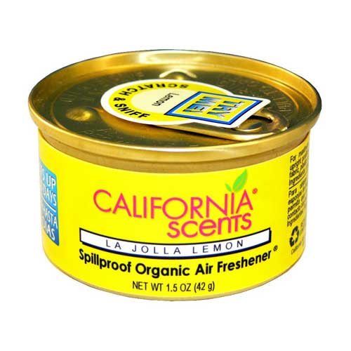 California Scent Car Freshener - La Jolla Lemon