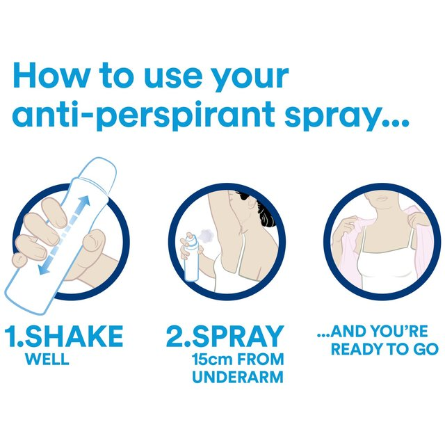 Dove Original Spray Anti-Perspirant Deodorant 250ml (Made in Britain). - Talabac
