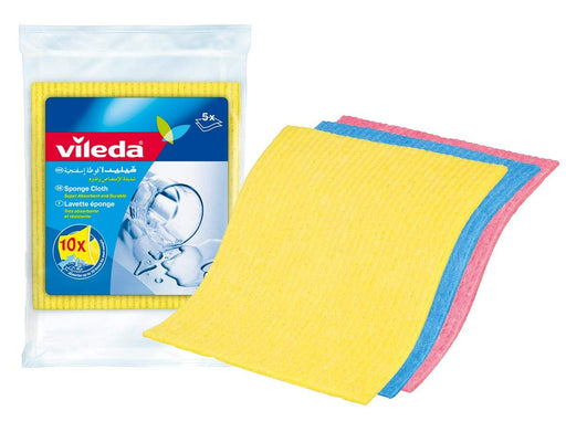 Vileda Sponge Cleaning Cloth 5pcs - Talabac