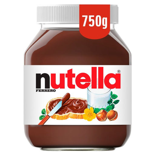 Nutella Hazelnut Chocolate Spread 750g