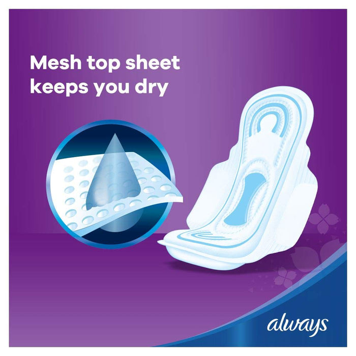 ALWAYS maxi thick sanitary pads, 40 ct - of 4 Pieces - Talabac