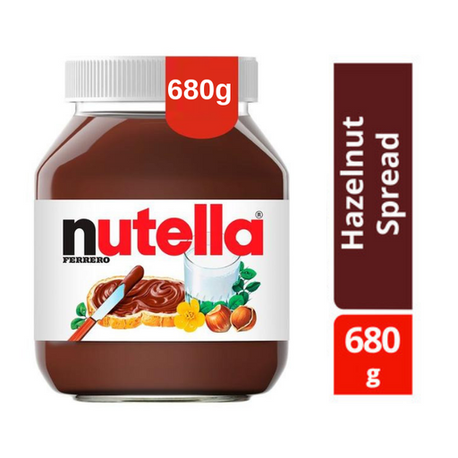Nutella Hazelnut Chocolate Spread 680g