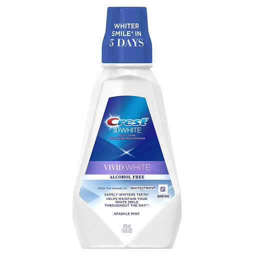 Crest 3d Vivid White Mouthwash, 473 Ml, 1.22 Pound