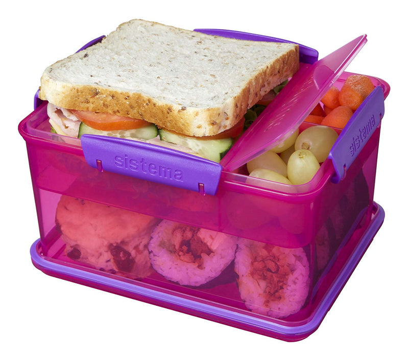 Sistema Lunch Tub Lunch Box, 2.3 L - Pink - Talabac