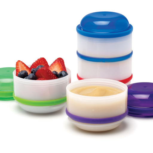 Dr. Browns Snack-A-Pillar™ Stackable Snack & Dipping Cups - Talabac