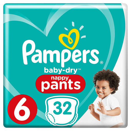 Pampers Baby Dry Pants Size 6 32 per pack 15+ Kg