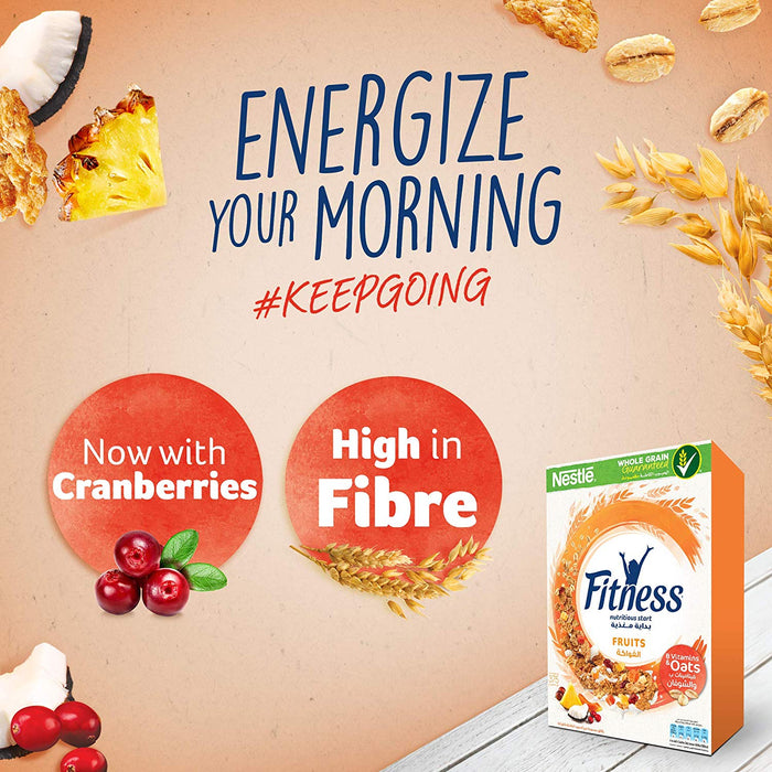 Nestle Fitness Fruits Breakfast Cereal - 355 gm - Talabac