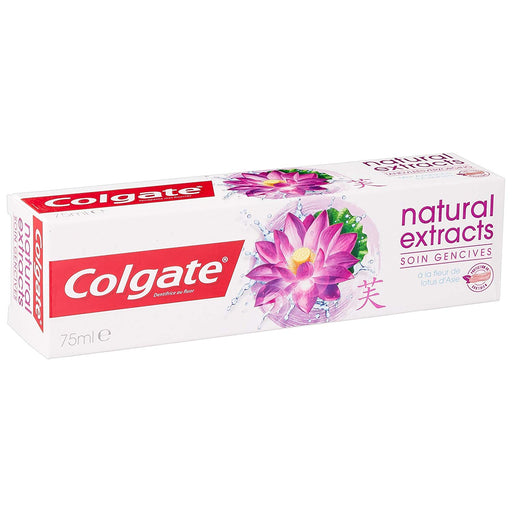 Colgate Naturals Extracts Lotus Flower Toothpaste 75ml