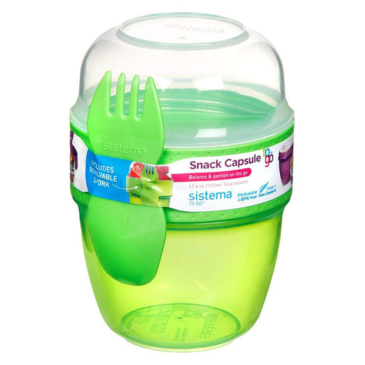 Sistema Snack Capsule To Go 515ml Green - Talabac