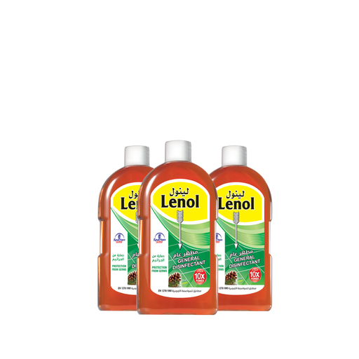 Lenol General Disinfectant 500 ml x 3 pieces