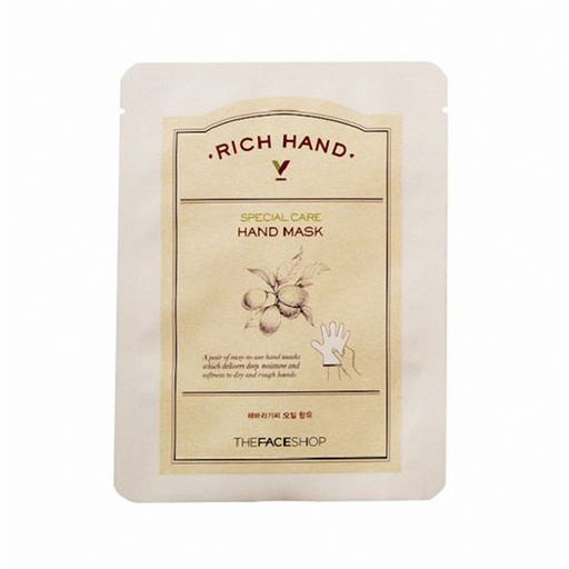 THE FACE SHOP Rich Hand V Special Care Hand Mask 16g