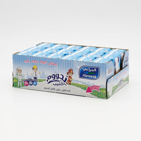 Almarai Nijoom Plain Milk 150 ml x 18 pieces - Talabac