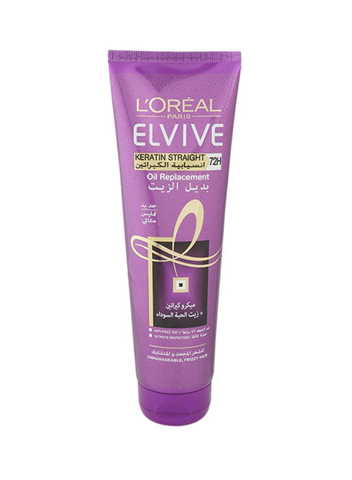 LOreal Elvive Keratin Straight Oil Replacement 300 ml - Talabac