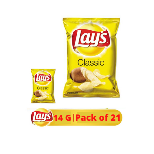 Lays Potato Chips 14g x 21 Pieces