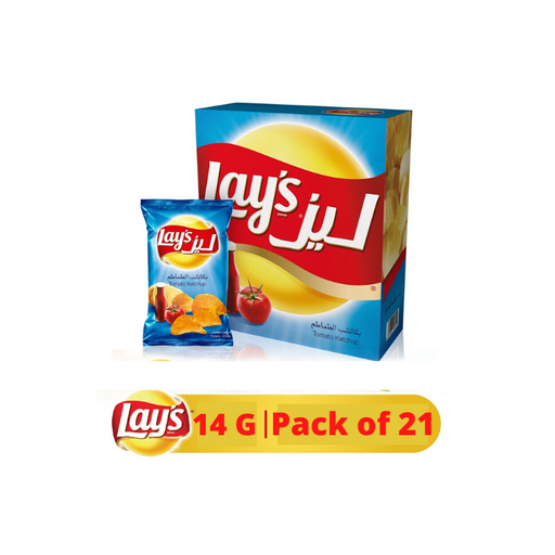 Lays Potato Chips Ketchup 14g x 21 Pieces