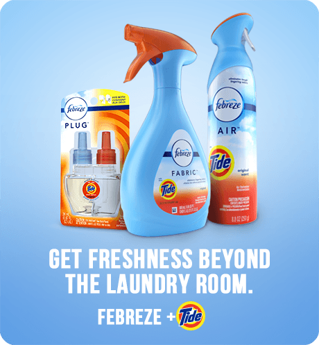 Febreze Air Freshener and Odor Eliminator Spray, Tide Original Scent 8.8 oz (1 Pack)
