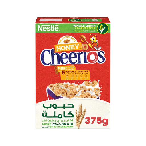 Nestle Cheerios Honey Breakfast Cereal - 375 gm - Talabac