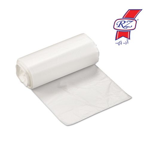 RZ Trash Bags Roll White 50 * 60 cm - 20 per pack - Talabac