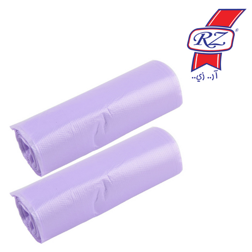 RZ Trash Bags Roll Purple (scented) 50 * 60 cm - 20 per pack