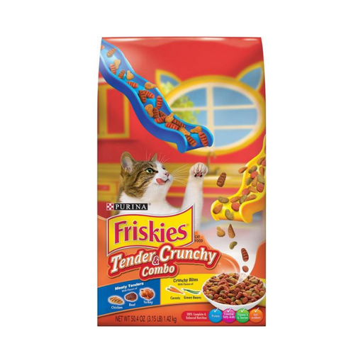 Purina Friskies Signature Blend Cat Food 1.4 kg