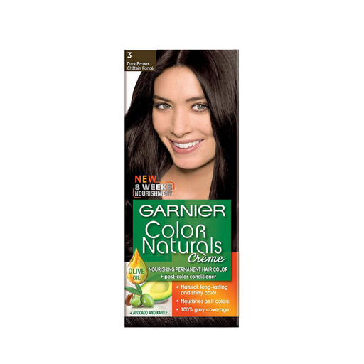 Garnier Color Naturals - 3 Dark Brown - Talabac
