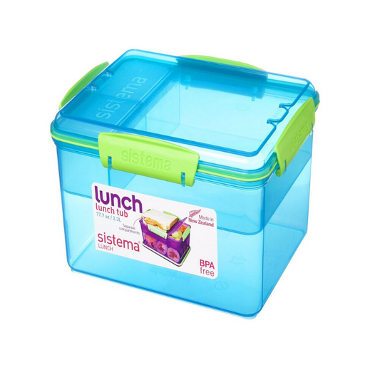 Sistema Lunch Tub Lunch Box, 2.3 L - Blue - Talabac