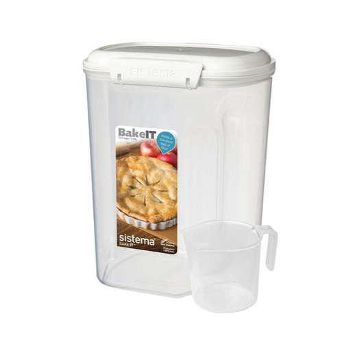 Sistema Bakery Dry Ingredients Storage with Measuring Cup 3.25L - Talabac