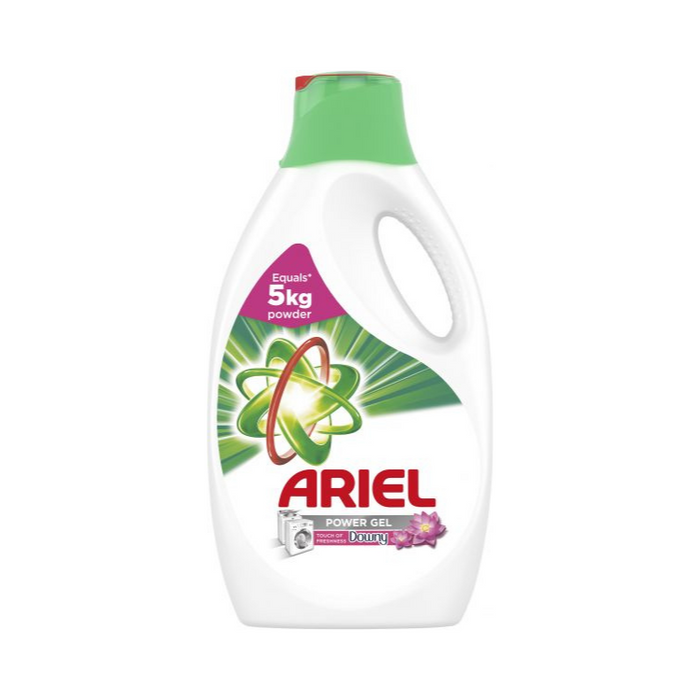 Ariel Automatic Power Gel Laundry Detergent Touch Of Freshness Downy 2.5L