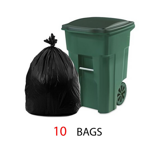 Garbage Bags with 70 X 90 cm - 10 per pack