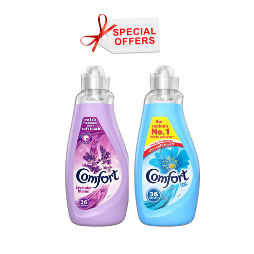 Comfort - OFFER - Fabric Conditioner 2pcs X 1.26L (Made in Britain)